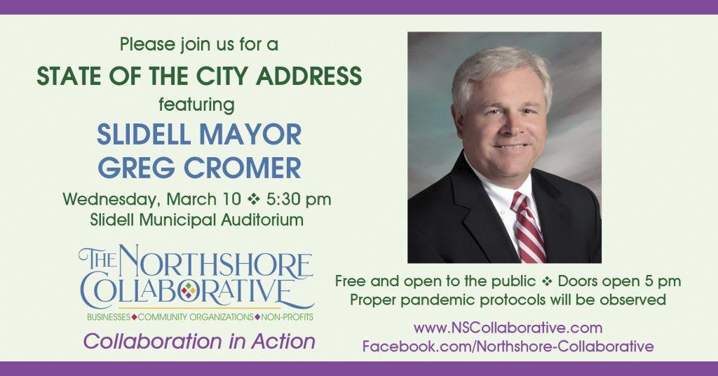 Mayor Greg Cromer State of the City Address